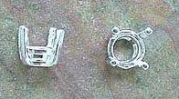 Snaplock Crown 5mm Sterling Silver