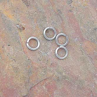 Jump Ring 6mm Stainless Steel