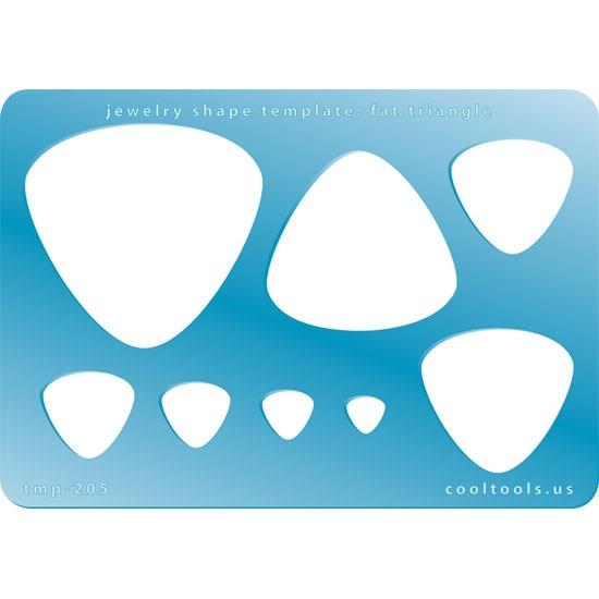 Template CoolTools #205 Fat Triangles