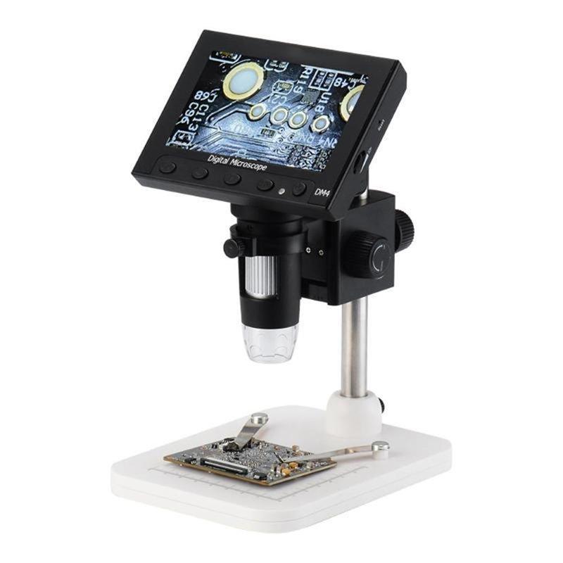 Digital Electronic Microscope 1000x 4.5'' Screen