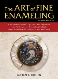 Book - Art of Fine Enamelling 2nd Edition by Karen Cohen (Hardcover)