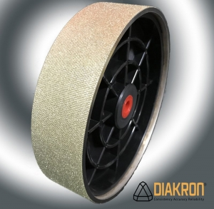 Diakron Diamond Grinding Wheel Textured 8'' (200mm) x 2'' (50mm) 80 grit