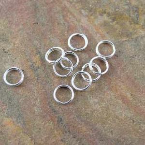 Split Ring Sterling Silver 5mm