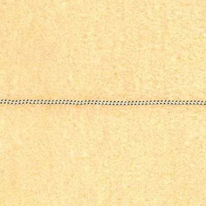 Chain Curb 60cm x 1.5mm Sterling Silver