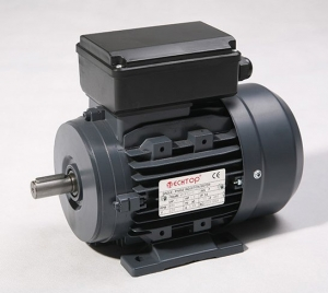 Motor Electric 1/3HP, 1400RPM, 14mm Shaft, 240VAC