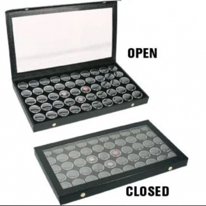 Gem Display Case 50 Jar 375 x 210 x 55 mm