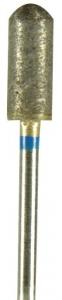 Diamond Sintered Bur #220 Grit 5x14mm Round End Cylinder (2.35mm)
