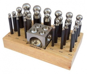 Deluxe Steel Dapping Set 26 Pc