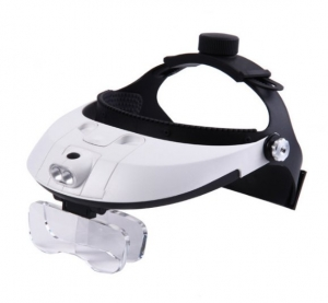 Headband Magnifier w/LED's MG8