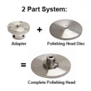 Polish Head Adaptor Aluminium