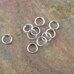 Split Ring Silver Plated